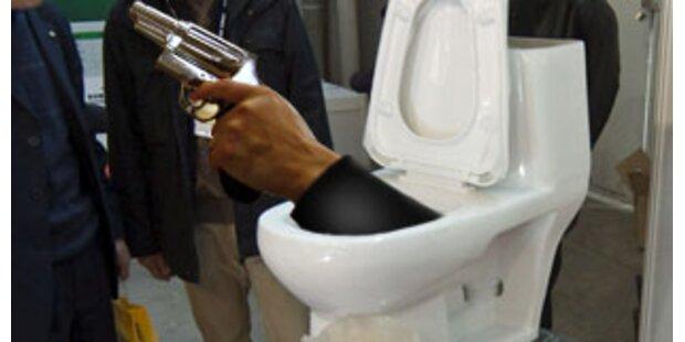 Mord wegen Störung bei Toilettengang