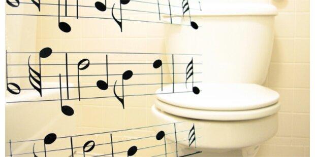 Saubere Toiletten wichtiger als Musik