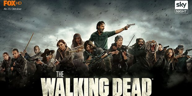 Walking Dead: Karten für Staffelstart holen
