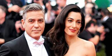 Süße Baby-Gerüchte um Clooney & Amal
