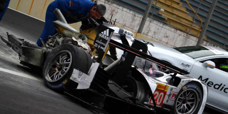 Schwerer Unfall von Mark Webber