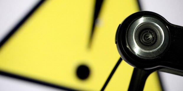 In Österreich sind 148 Webcams betroffen