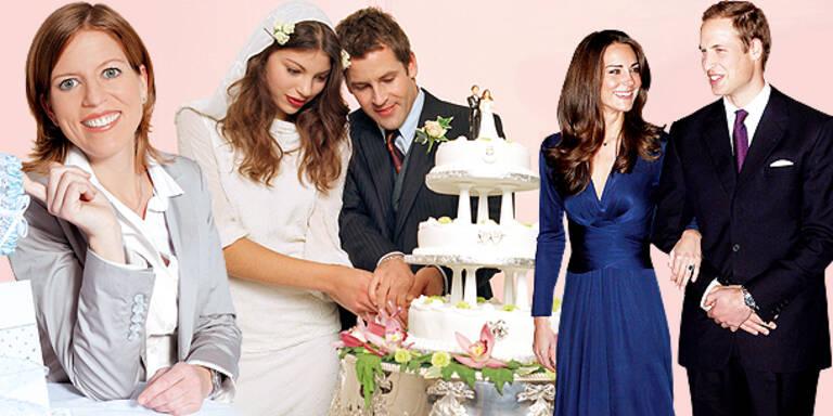 Die Tricks der Hochzeitsplanerin