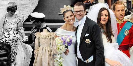 Royale Brautkleider schreiben Geschichte