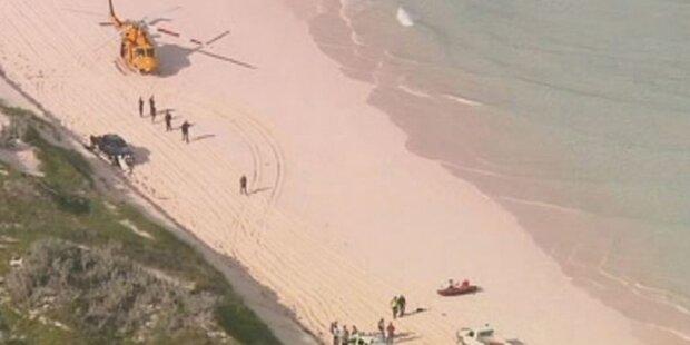 Weißer Hai reißt Surfer entzwei