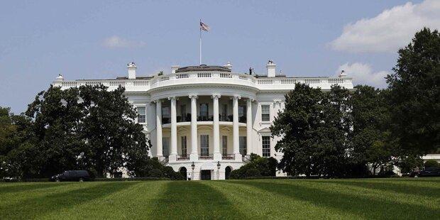 Kleinkind versetzt Weißes Haus in Panik