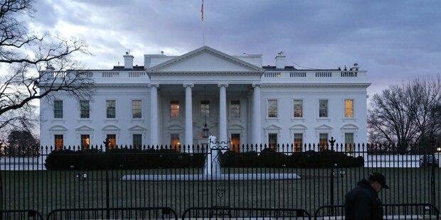 Presseraum im Weißen Haus evakuiert