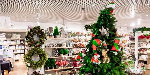 Weihnachts-Geschäft legt schon los