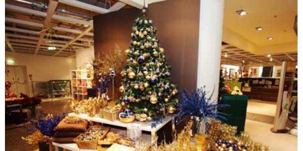 Weihnachts-Handel gestartet
