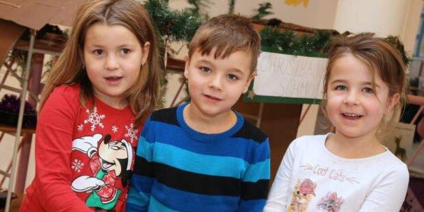 Weihnachten in den Kindergärten