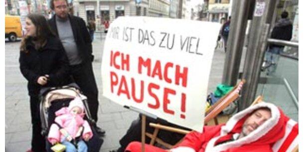 Weihnachtsmänner streiken am Samstag