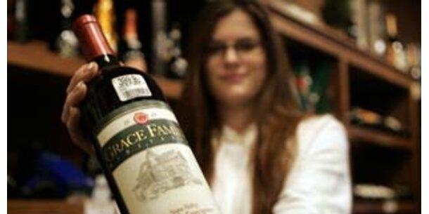Teurer Wein mundet besser