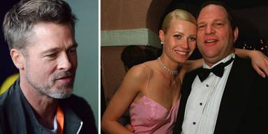 Brad Pitt Gwyneth Paltrow Harvey Weistein