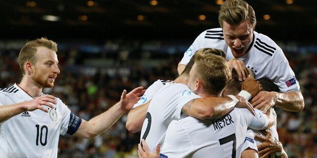 Deutschland ist U21-Europameister