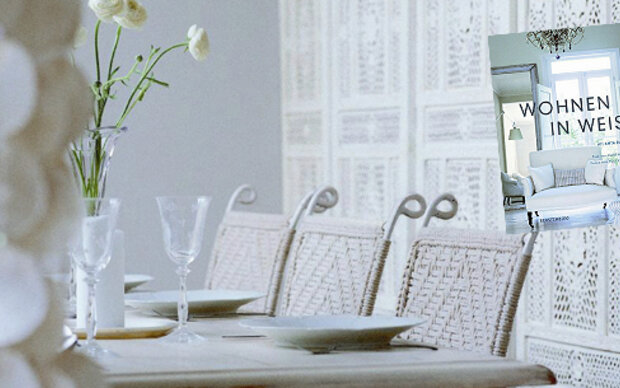 Einrichtungsideen: Wohnen in Weiß