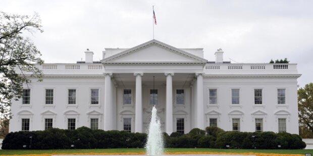 Weißes Haus nach Schüssen abgeriegelt