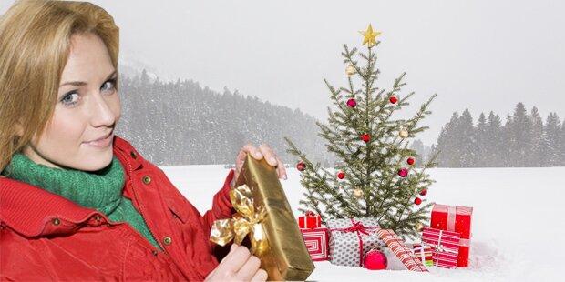 So stehen die Chancen auf weiße Weihnachten
