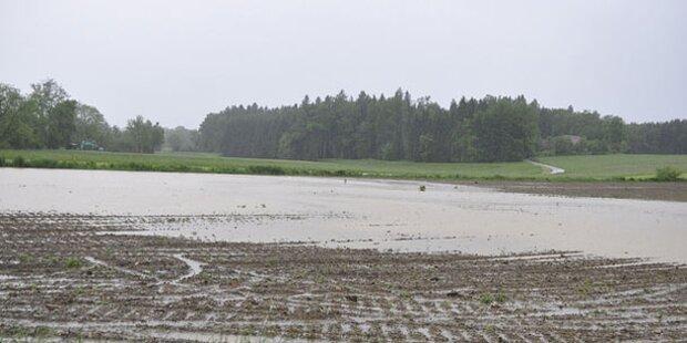 Nächste Front im Anmarsch - Hochwasser-Alarm