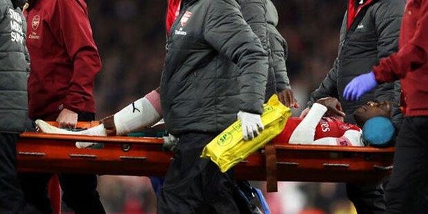 Arsenal-Star schockt mit Horror-Verletzung