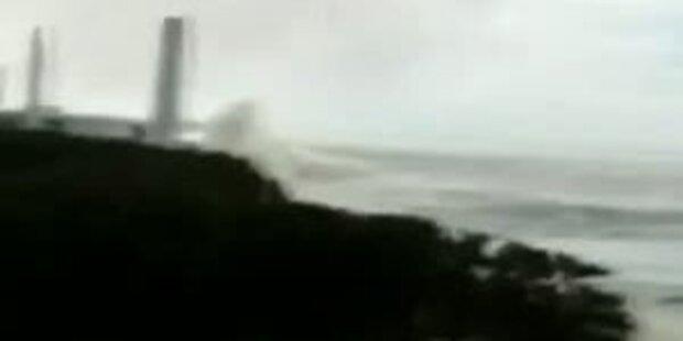 Tsunami trifft AKW Fukushima