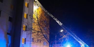 Wohnhaus in Flammen: Drei Kinder im Spital