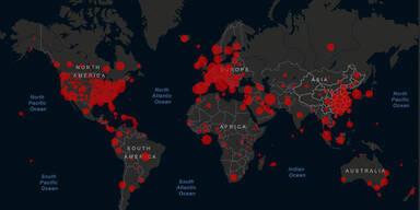 Über eine halbe Million Menschen weltweit mit Corona infiziert
