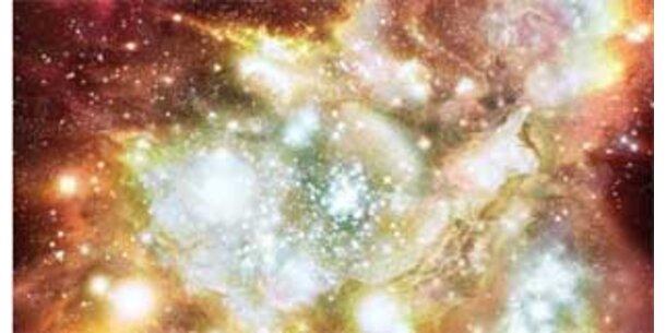 Schwarze Löcher existierten schon vor den Galaxien