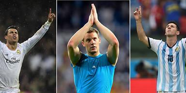 Neuer fordert Messi & Ronaldo