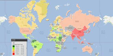 Jetzt ist die Penis-Weltkarte da!