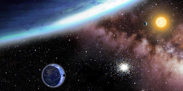 Zweite Erde im Weltraum entdeckt?