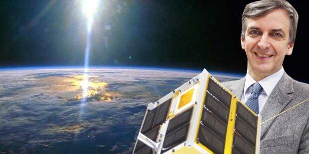 Österreich schießt zwei Satelliten ins All