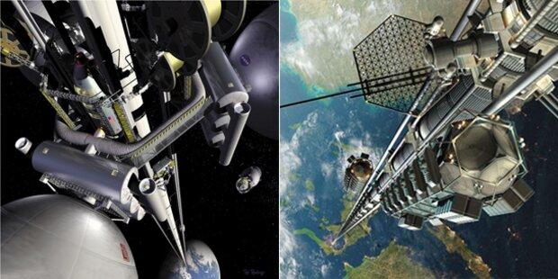 Geheimprojekt: Google plant Weltraum-Fahrstuhl