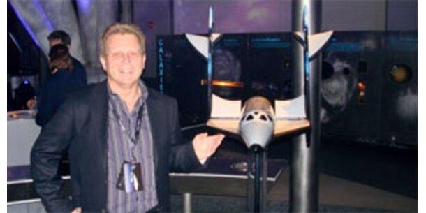 Österreichischer Weltraumtourist startet bald