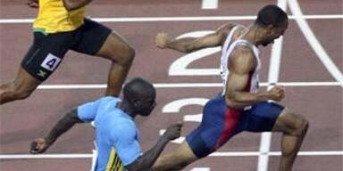 100-m-Weltrekord von Powell mit 9,74 Sekunden
