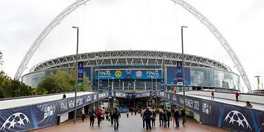 Im Wembley wird Geschichte geschrieben