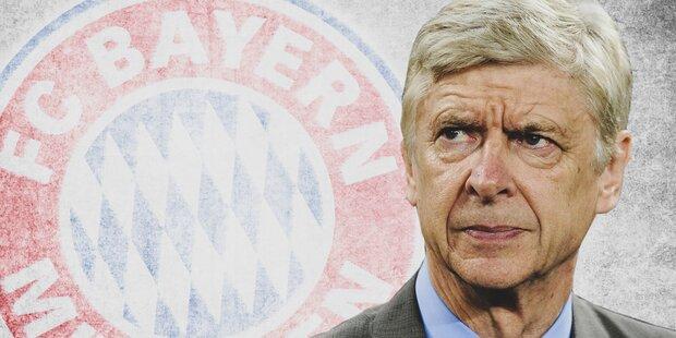 Wenger bestätigt Bayern-Interesse