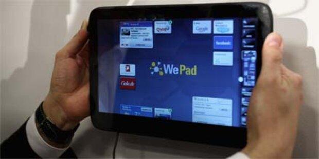 Neue WePad-Präsentation am 26. April
