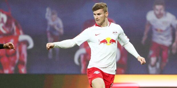 Bayern & BVB wetteifern um Timo Werner