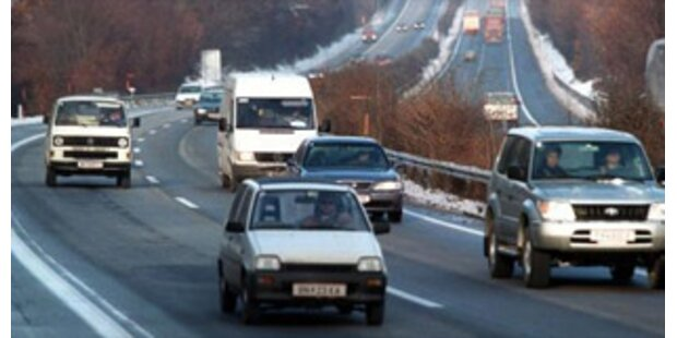 Westautobahn wegen Sprengungen teilweise gesperrt