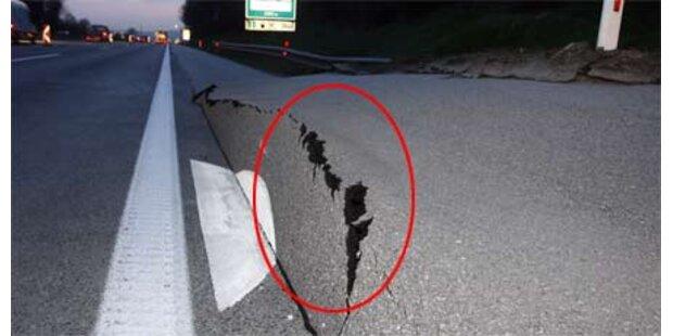 Hangrutsch bedrohte Westautobahn