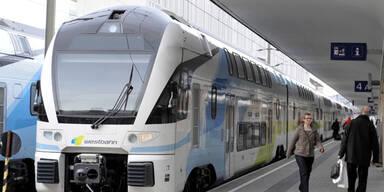 "Westbahn ""verlängert"" Kilometerbank-Strecken"