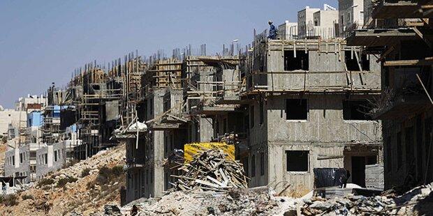 Israel verkündet neue Siedlungsbaupläne