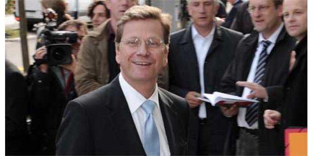 Deutsche gegen Außenminister Westerwelle