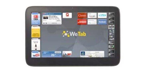 iPad-Gegner WeTab offiziell gestartet