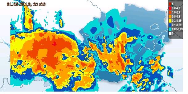 Wetter Live Karte