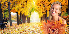 Goldener Herbst: Sommerliche Temperaturen