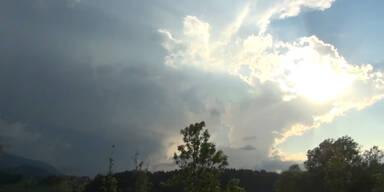 Wetterprognose: unbeständig & kühler