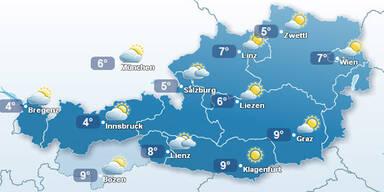 Das Wetter für das schönste Bundesland Österreichs