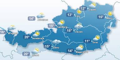 So wird das Wetter am Wochenende