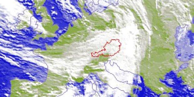 Sturm zieht über Salzburg